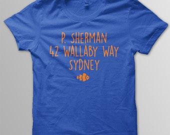 Finding Nemo Shirt Disney shirt toddler 42 Wallaby Way shirt