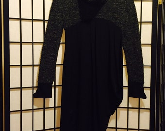 2026 Asymmetric Sweater Dress - Small