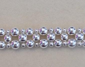 Sterling Silver Magnetic Clasp Bracelet