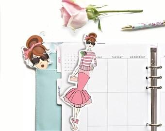 Planner Girl Bookmark & Pagemarker