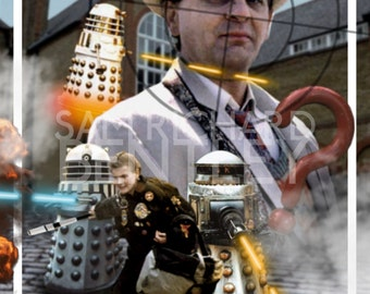 Doctor Who - 'Remembrance of the Daleks (1988)' - Print