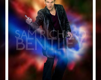 Doctor Who - Portraits of the Doctor - Ninth Doctor - Print