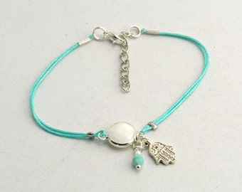 Friendship Bracelet with Birthstone