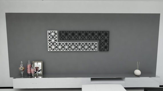 Metal Wall Designs original wall design with metal frames and plywood Modern Italian Design Wall Art Aluminum Plexiglas With Arabesque Patterns Metal Art Metal