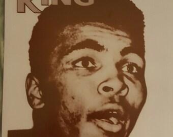 Muhammad  Ali  Rings Magazine cover 11x14 print