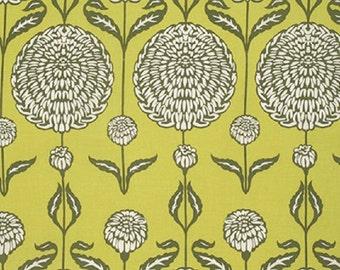 """Joel Dewberry   """"Birch Farm""""  Chrysanthemum  Sage  Cotton Sateen"""