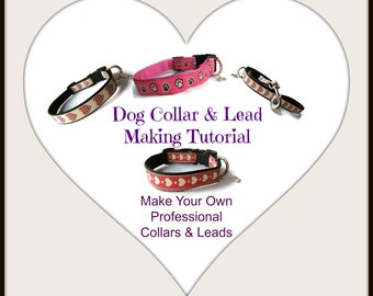 Dog Collar & Lead Making Tutorial