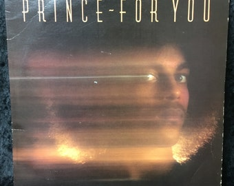 """Prince """"For You"""" - 1978 Jacksonville Pressing"""