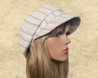 Sun hats visor, Summer caps cotton, Newsboy hats sun, Linen visor hats, Organic fabric hats, Sun caps for women, Womens hats summer