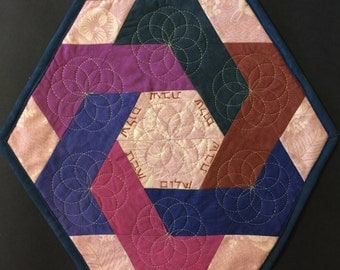 Quilted Challah Cover