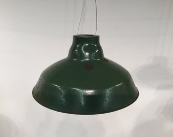 Vintage Metal Pendant Lighting - 1950s