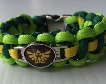 Zelda paracord bracelet