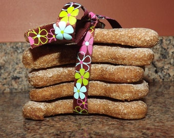 Peanut Butter Dog Biscuits, Gift For Dog lovers, Homemade Dog Biscuits