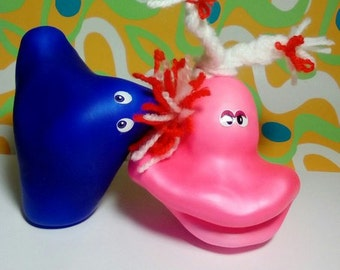 set of 2 Stress balls, Toy, Rest time, stress reduction, stress relief idea gift, cute novelty stress Toy, customised  house awesome  balls