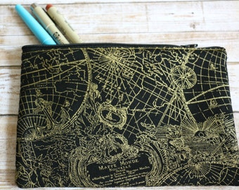 Travel | World Map Pouch