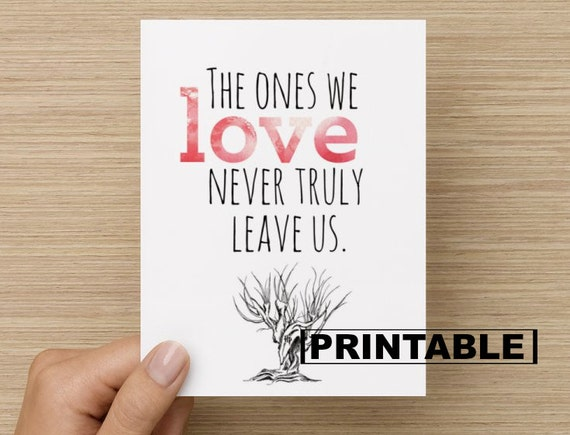 Selective image regarding sorry for your loss printable cards