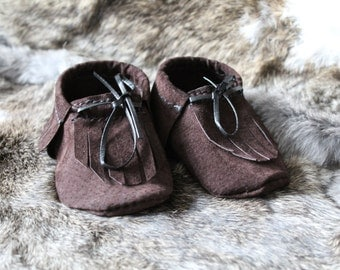 Baby Moccasins Suede (6-12 months)