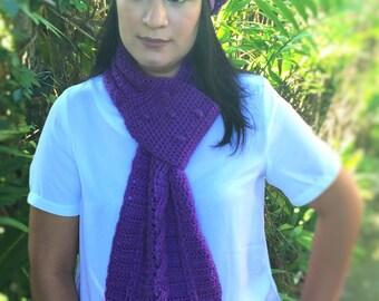 Crochet set Hat and Scarf, Handmade Hat, Crochet set, Beret Style Hat