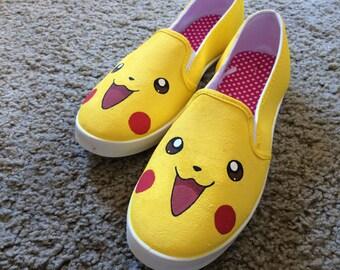Pokémon Face Canvass shoes