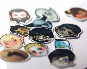 Dragon Age Sticker Set