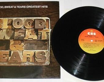 LP VINYL Blood Sweat And Tears - Greatest Hits, CBS 64803 Greece, Classic Rock Music