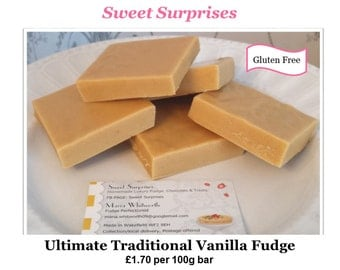 Ultimate Traditional Vanilla Fudge GLUTEN FREE - Straight from the Kitchen!