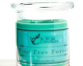 Pine Tree Forest Soy Candle