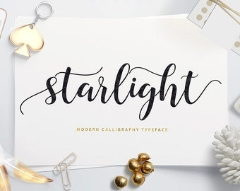 Starlight Modern Calligraphy Typeface