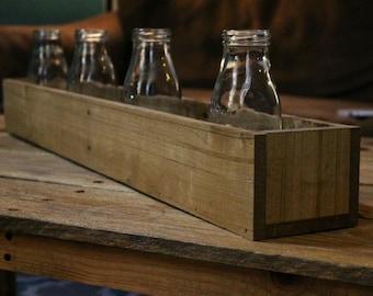 Wood Box Centerpiece