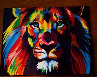 Lion POP ART