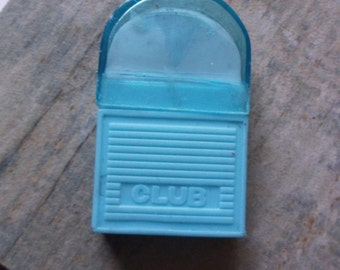 Rare 1980s Club Eraser in Case