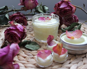 Natural Rose Lotion with Organic Ingredients