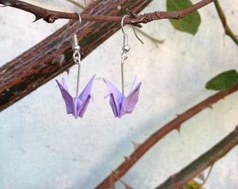 Tiny Origami Earrings