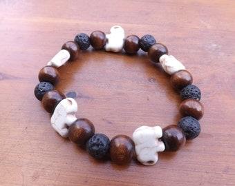 Handmade Elephant Bracelet