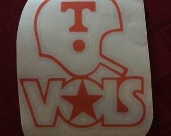 Tennessee Vols Vinyl Decal , Tennessee Vols stickers, University of Tennessee stickers, Tennessee decals stickers,Volunteers Car decals