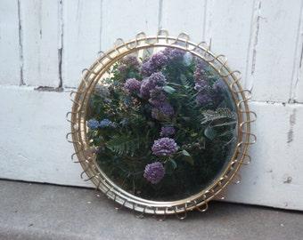 Waves Gold mirror