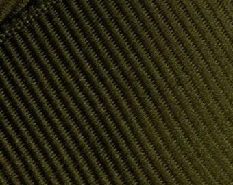 Olive Green Grosgrain Ribbon   (05-##-S-271)