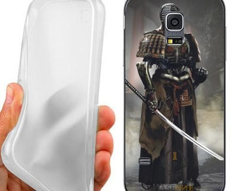 Gloomy samurai case cover for samsung galaxy s5 G900 i9600