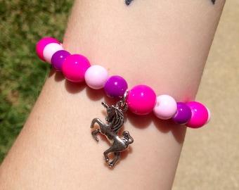 Bubblegum Pop Unicorn Bracelet