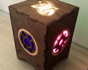 DC Comics night light lamp