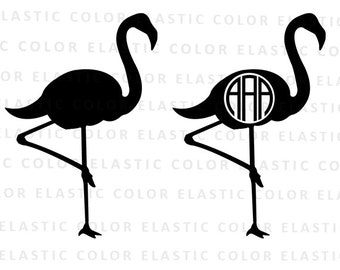Flamingo svg - flamingo clipart - flamingo vector files - flamingo silhouette digital download svg, eps, dxf, png