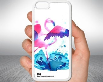 "Cell ""Flamant Rose"" case"