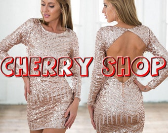Dream sequins dress for parties and events!