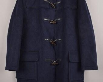 gloverall, duffle coat, trenchcoat, vintage duffle coat, vintage trench coat, vintage parka, parka, Size: M, wool jacket, sheep wool jacket