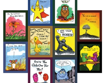 Good Morning Cards (set of 10)