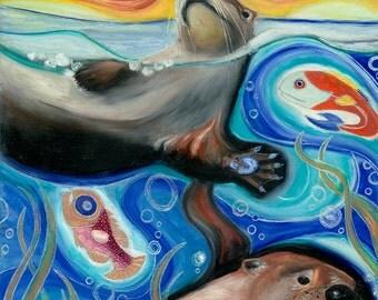Otter PRINTS! (Giclee)