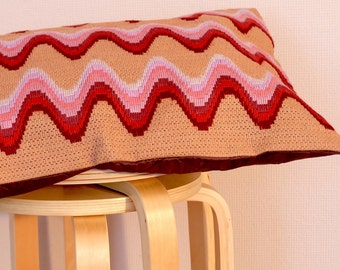 """Decorative pillow cover """"Waves"""""""