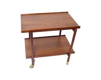 Poul Hundevad, Modern Bar Cart, Danish Bar Cart, Danish Tea Cart, Mid Century Bar Cart