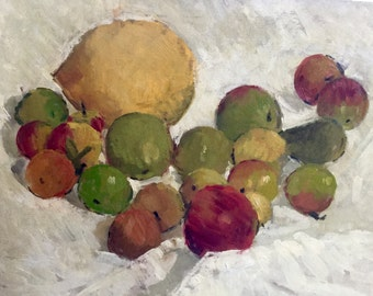 Original acrylic still life painting by Elsie Hewison