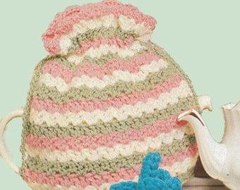 Vintage Crochet Tea Cozy Pattern